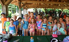 TSC 072216 326 (Tolland Recreation) Tags: boys girls kids children youth summer camp tweens teens teenagers water fun games activities waterslide pond lake swimming leisure recreation tolland connecticut jumping diving raft tsc072216