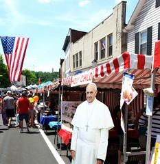 Francis (e r j k . a m e r j k a) Tags: street pope festival whimsy display pennsylvania allegheny bridgeville us19 i79pa erjkprunczyk