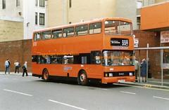 SBL LO59 Osborne St 1993 (Rightgoodmotor) Tags: leyland olympian alexander rl lo59 l159uns strathclyde buses glasgow sbl scotland scottish bus