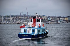 The Cremyll Ferry, River Tamar, Stonehouse (Baz Richardson (now away until 30 July)) Tags: plymouth devon stonehouse rivertamar cremyllferry mvedgcumbebelle