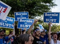 IMG_1433 (Becker1999) Tags: dnc philadelphia democraticconvenion protest bernie bernieorbust democracy 2016 rollcall vote wellsfargo wellsfargocenter