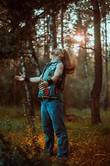 IMG_4914 (rodinaat) Tags: longhair longhairman longhairedman longhaired beard bearded metal metalhead powermetal trashmetal guitar musican guitarplayer brutal forest summer sun