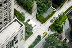 Tokyo Metropolitan Government Building in isometric () (christinayan01) Tags: office architecture japan tokyo metropolitan courtyard shinjuku building perspective