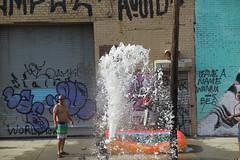 IMG_4368 (Mud Boy) Tags: nyc newyork brooklyn bushwick summer streetscene hydrant graffiti firehydrant streetart