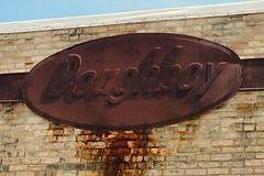 Doughboy Feeds, Stoughton Wisconsin (Cragin Spring) Tags: doughboy doughboyfeeds sign rust rusty feeds midwest wi wisconsin stoughtonwisconsin stoughton stoughtonwi unitedstates usa unitedstatesofamerica