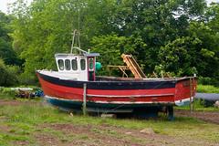 Sail away (Fife walking) Tags: eigg island scotland boat