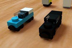 Micro Building vehicles Set 1 (wray20641) Tags: building set toy toys construction lego cranes micro vehicle heavy digger excavator moc microscale