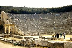 Grce, vacances de Pques 1987. pidaure. (Marie-Hlne Cingal) Tags: 1987 greece grce  hells  diaponumrise