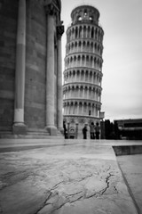 Marble (Brian Pemberton) Tags: travel italy blackwhite fuji pisa marble february europetrip 2015 theleaningtowerofpisa brianpembertonphotography fuji1855f284 fujixt1