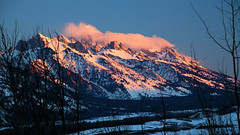 Sunrise on the Tetons, , [3840x2160] (4K and 2K Wallpapers) Tags: wallpaper scenery widescreen hires wallpapers 169 4k 2k 3840x2160 2560x1440 wqhd