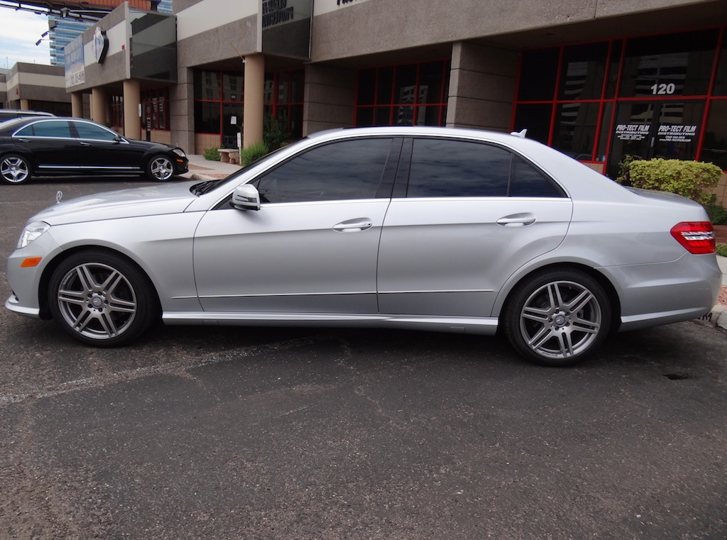 Mercedes E350 Ceramic Tint 18 80