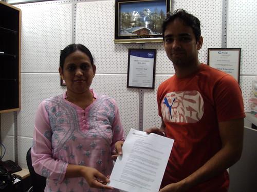 Director handling Australia Student visa to Satpinder Singh