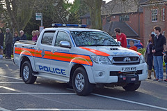 FJ59MYS (Emergency_Vehicles) Tags: forest support leicestershire leicester iii group police east funeral richard toyota hilux tactical cortege fj59mys