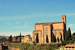 SanDomenico profile (DaveCortese) Tags: italy church siena sandomenico