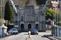Porthaethwy .. Diwrnod gwylio ty y Pont Feistr 04/04/15 Menai Bridge.. The Bridge  master's house viewing day (Martin Pritchard) Tags: bridge suspension thomas telford master menai
