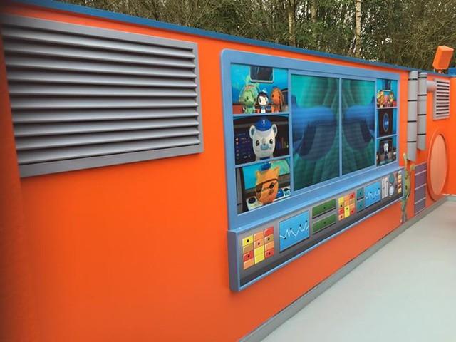Octonauts Rollercoaster Adventure - Station platform