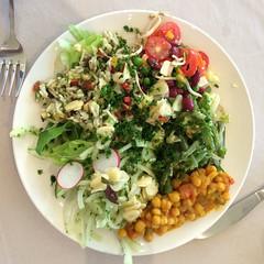 A Plate of Salad (RobW_) Tags: africa lunch march salad south saturday hydro western cape stellenbosch 2015 lindida mar2015 21mar2015