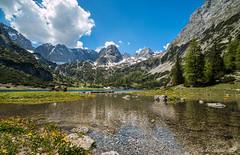 Auf-den-Weg-zurCoburger-Hütte-II Seebensee (Madlen Steiner) Tags: mountain lake alps nature canon landscape austria see tirol österreich wasser europa natur hütte berge alm alpen blau landschaft gebirge weitwinkel 70d mieminger seebensee coburger ehrwalder landschaftsaufnahme