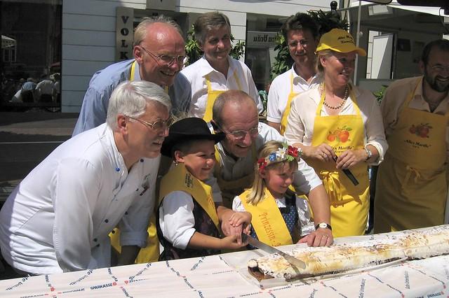 クレムス(オーストリア)のお祭り:アプリコット祭り