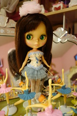 My Birthday Girl!!! (Primrose Princess) Tags: pink paris cake ballerina doll lolita kawaii kenner blythe chic 1972 tutu 1972kennerblythedoll parisiennechic dollydreamland embroideredsilkcorset brunettekennerblythedollbrunettevintage vintageballerinacaketopper