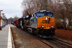 CSX (Littlerailroader) Tags: railroad train massachusetts newengland trains andover transportation locomotive trainspotting locomotives railroads csx ballardvale newenglandrailroads andovermassachusetts