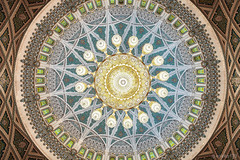 (eneko123) Tags: grand frombelow mosque symmetry chandelier dome mezquita symmetrical sultan swarovski araa oman qaboos muscat lmpara mosque eneko123 cpula omn  simetra moschee sultanateofoman omani sultanate  mascate simtrico     maskat    masqa sqgm