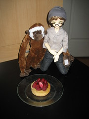 Second Toby Day 003 (EmpathicMonkey) Tags: toby ball toys happy monkey photo dolls olive story bjd jointed bluefairy