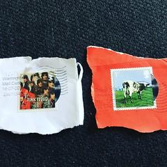 Pink Floyd stamps (Dradny) Tags: art stamps pinkfloyd albums royalmail sleeves rogerwaters nickmason sydbarrett davidgilmour rickwright