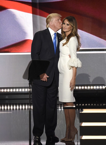 Donald and Melania Trump, From FlickrPhotos