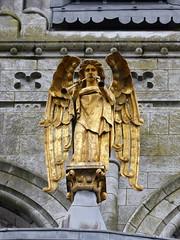 Engel-angel (Anke knipst(on/off)) Tags: cork kirche church cathedral irland ireland angel engel