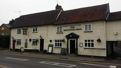 Maltsters Arms 18th century Building Abridge (Richard.Crockett 64) Tags: malstersarms pub publichouse 16thcentury building abridge essex 2016