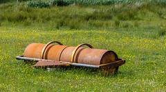 Just Waiting (Mac ind Óg) Tags: summer holiday abandoned grass walking scotland roller gairloch westerross strath