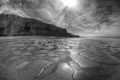 Tricklin (pauldunn52) Tags: heritage wet wales temple bay coast sand glamorgan mawr traeth