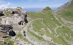 Hairpins up high (will_cyclist) Tags: italy cycling military finestre assietta