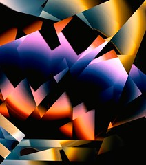 Prism abstract (kevin dooley) Tags: fisheye2 fragment abstract color triangle prism