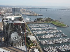 (procrast8) Tags: california park ca bridge marina marriott hotel san downtown south hilton diego embarcadero coronado marquis bayfront