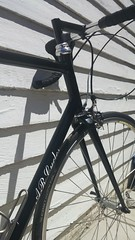20160723_121414 (AR Cycles) Tags: arcycles custom columbus spirit lugged road frame pearl paint black stainless headbadge fork