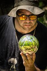 In Your hands... (crmanski) Tags: reflections escher selfportrait selfie