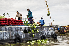 Mekong Delta (ich_onja_anja) Tags: fluss schwimmendermarkt mekongdelta delta mekong asien vietnam