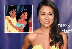 Once Upon a Time: Princess Jasmine Cast With Galavant's Karen David (disneyprincess195) Tags: once upon time