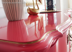 2016 0716 Peony French Provincial_Full Size-8 (Phoenix Restoration | Furniture by Christina) Tags: seattle pink baby phoenix by french furniture christina nursery magenta peony moore hollywood restoration benjamin dresser sideboard regency provincial edmonds lacquered