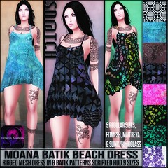 Sn@tch Moana Batik Beach Dress Vendor Ad LG (Tess-Ivey Deschanel) Tags: sntch snatch iveydeschanel ivey deschanel designer secondlife sl second life omegasystem outfits omega summer specials new newrelease mesh model meshclothing meshclothes models punk pants pixels party clothing clothes clubwear costumes casual beach genre