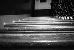 Close (nils_aksnes) Tags: blackandwhite bw glasgow pinhole ilford tenement wppd worldwidepinholephotographyday ondu ondu135