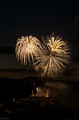 Murol 14/07/2016 [Explore] (gael63) Tags: longexposure france night fireworks 14juillet feudartifice massifcentral 2016 fetenationale murol