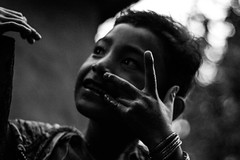 _MG_5049 (WegZ Photography) Tags: life travel nepal people bw mountains travelling monochrome festival kids village dancing area remote nepali