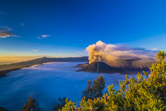 Blue Time Sunrise In Mount Bromo (madi_patub) Tags: sunrise landscape nikon long exposure mount bromo photograpy d7200