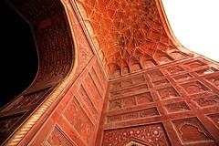Taj Mahal 196 (David OMalley) Tags: world india heritage river site tomb taj mahal agra unesco mausoleum shah pradesh uttar jahan mughal mumtaz yamuna
