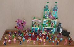all my Playmobil Seafolk (Just a Nobody) Tags: playmobil mermen merman mermaid nixen meerjungfrauen figures figur doll meermnner