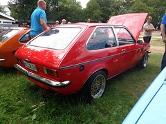 Opel Kadett C City (911gt2rs) Tags: treffen meeting youngtimer tuning rot red vauxhall chrom