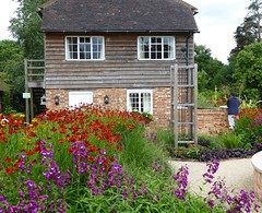 Hall Place Farm, Cranleigh (oh.suzannah) Tags: garden cottage country vibrant colourful